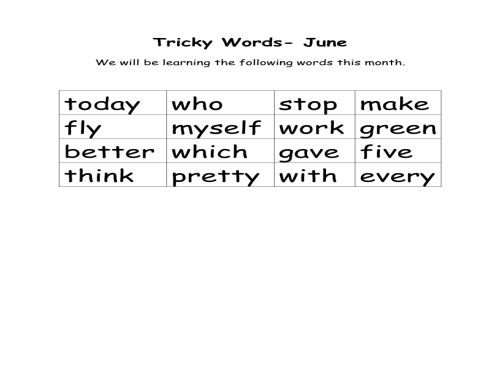 Tricky-Words-June